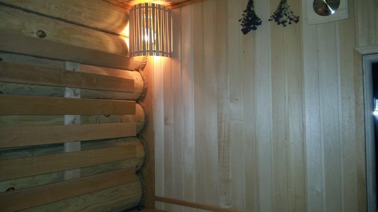 сауна на дровах, продажа дачи, обшивка из лиственницы