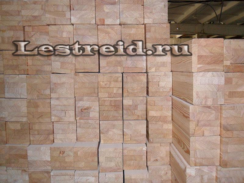 брус клееный из Лиственницы, фото 3