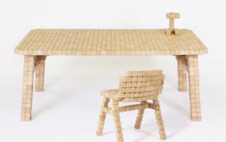 Мебель из бруска
