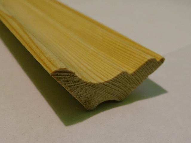 плинтус из лиственницы, фото 2